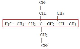cadeia principal - Nomenclatura de Compostos Orgânicos em Passo a Passo