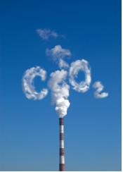 Poluição causada por dióxido de carbono
