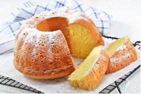 O bicarbonato de sódio é usado como fermento de bolo