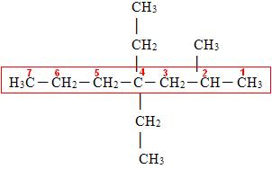 numeracao de cadeia principal - Nomenclatura de Compostos Orgânicos em Passo a Passo