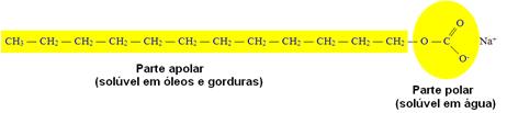 Molécula de sabão