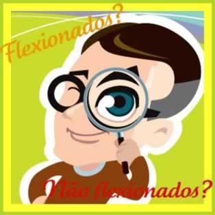 Em se tratando dos substantivos referentes a partes do corpo, pode haver a flexão e não flexão desses