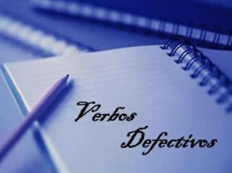 Verbos defectivos são aqueles que não possuem conjugação completa