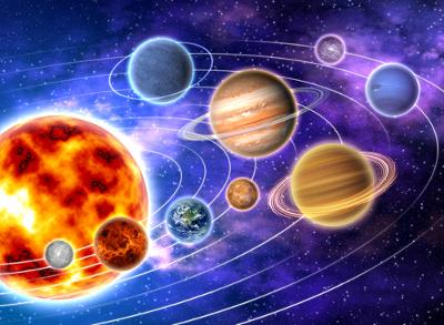 As Leis de Kepler descrevem que o movimento dos planetas é uma elipse, na qual o sol ocupa um dos focos