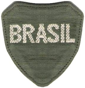 A volta da FEB ao Brasil ameaçava a ditadura de Vargas. Na foto, o primeiro distintivo da FEB
