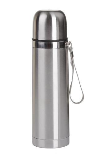 Garrafa térmica: recipiente utilizado para conservar a temperatura do líquido em seu interior