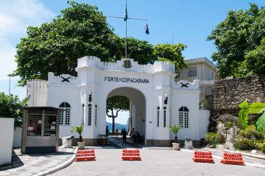 O Forte de Copacabana foi o palco da revolta tenentista de 1922