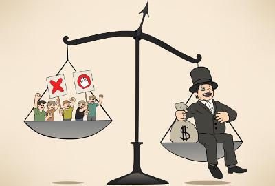 A concentração de renda é um dos principais problemas do capitalismo