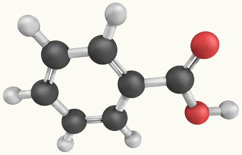 O ácido benzoico pode ser originado a partir de reação de oxidação em aromáticos