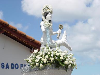 Iemanjá é uma das entidades do panteão do candomblé