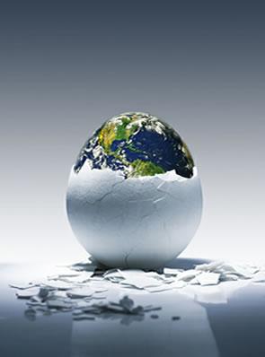 Atualmente, duas teorias são aceitas para explicar a origem da vida em nosso planeta