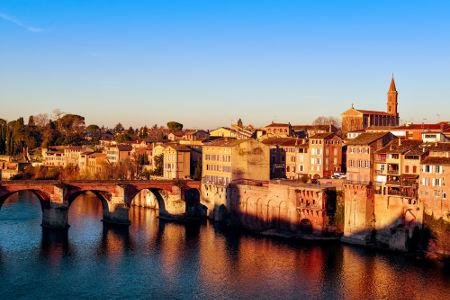 A cidade de Albi, no sul da França, foi um dos principais focos do catarismo durante os séculos XII e XIII