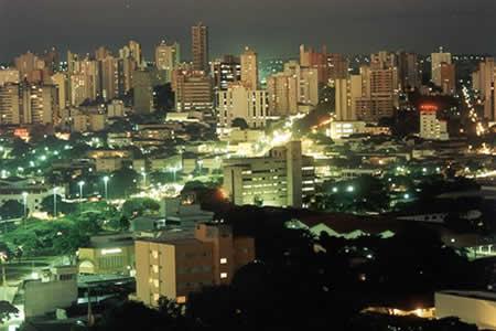 Campo Grande, capital e cidade mais populosa de Mato Grosso do Sul