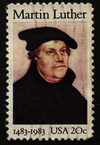 Martinho Lutero, grande protagonista da Reforma Protestante, utilizou a nova doutrina religiosa contra o poder político católico. *