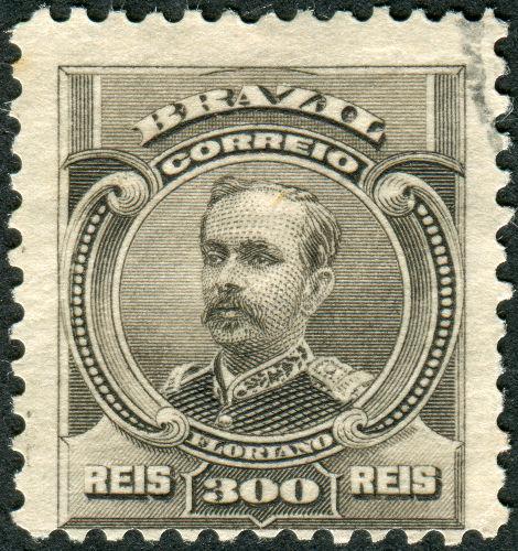 O marechal Floriano Peixoto foi o segundo presidente brasileiro e governou o país de 1891 a 1894*