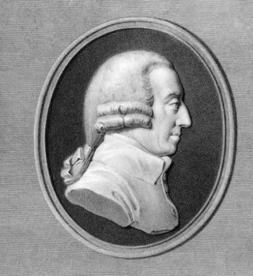 Adam Smith foi um dos pais da economia moderna e do liberalismo