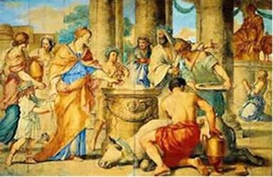 Cultos religiosos públicos realizados pelos romanos.