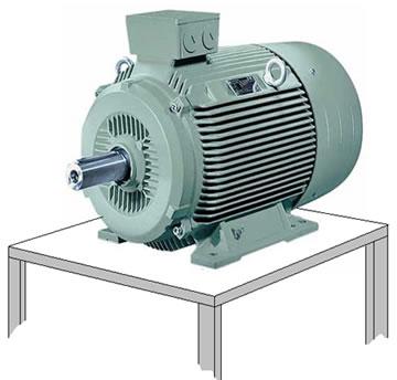 O motor elétrico é um exemplo de receptor elétrico