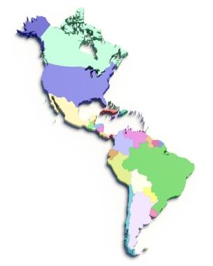 Divis Es Regionais Da Am Rica Alunos Online