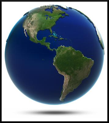A ampla extensão norte-sul permite à América uma grande diversidade natural