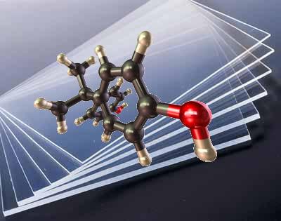 O policarbonato é um polímero transparente e muito resistente
