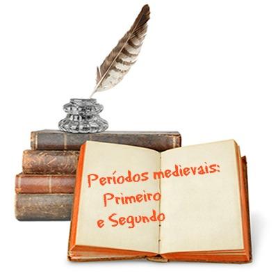 O primeiro período medieval foi representado pelo Trovadorismo e o segundo, pelo Humanismo