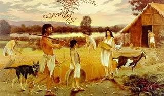 Neolítico - período no qual o homem tornou-se sedentário.
