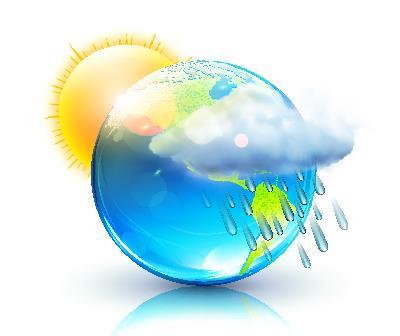 O clima e o tempo são estados diferentes da atmosfera
