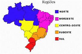 Divisão regional do Brasil
