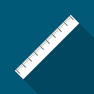Exemplo de reta numérica contendo alguns números inteiros