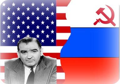 O senador norte-americano Joseph McCarthy criou, na década de 1950, a política anticomunista que ficou conhecida como macartismo