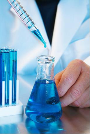 A concentração de uma solução química é a mesma em qualquer alíquota