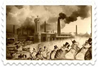 A Grande Depressão capitalista, no século XIX, provocou o crescimento dos grandes monopólios industriais e o Neocolonialismo europeu