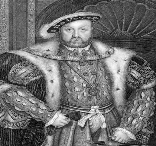 Gravura de Henrique VIII, rei inglês que rompeu com a Igreja Católica no século XVI