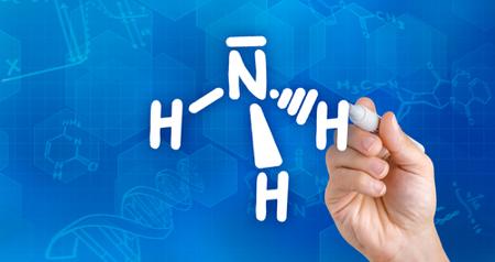 A amônia é um exemplo de substância cuja molécula é polar