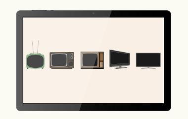 As televisões evoluíram desde as TVs de tudo até as incríveis TVs de LED