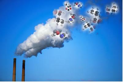 A grande maioria dos gases é formada por moléculas