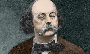 Gustave Flaubert  -  introdutor do Realismo, com a obra Madame Bovary