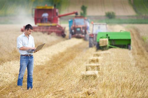 Na agricultura intensiva, há a utilização de tecnologia e mão de obra especializada