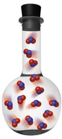 A alteração da pressão de um sistema gasoso desloca o equilíbrio químico.