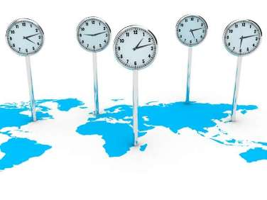 Os fusos horários são responsáveis pela divisão do tempo nas diferentes partes do mundo