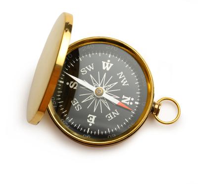 A bússola: instrumento de orientação que se baseia na interação magnética