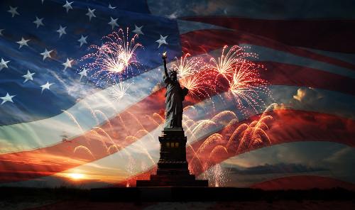 A Independência dos Estados Unidos formalizou-se no dia 4 de julho de 1776