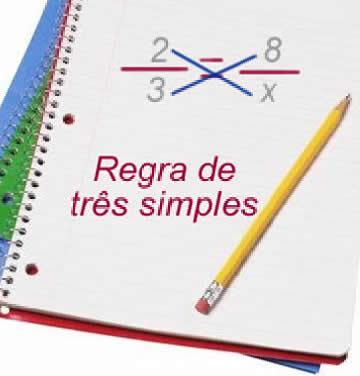 Regra de três simples com grandezas diretamente proporcionais