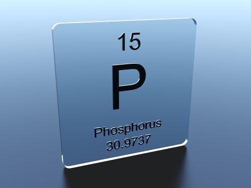 Por meio da hibridização, o fósforo (na imagem, com nome em latim) é um elemento que pode fugir à regra do octeto