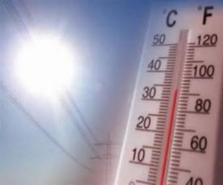 Os altos índices da temperatura