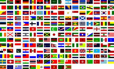 Bandeiras dos países do mundo