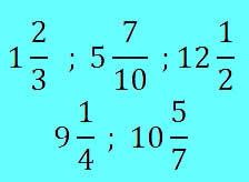 Números mistos