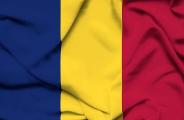 Bandeira oficial da República do Chade