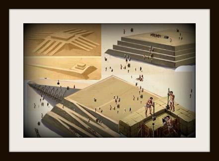 Construção das pirâmides egípcias